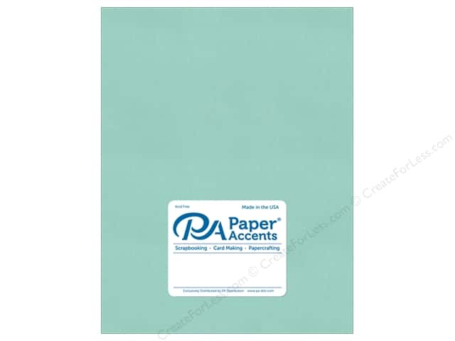 Paper Accents Cardstock 8 1/2 x 11 in. #8860C Pearlized Frosted Teal 5 pc.