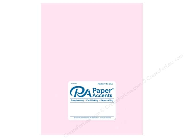 Paper Accents Vellum 8 1/2 x 11 in. #936 Light Pink 5 pc.