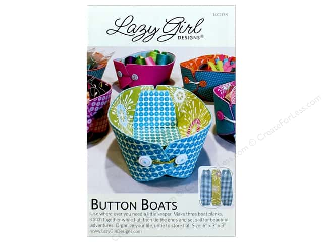 Lazy Girl Designs Button Boats Pattern