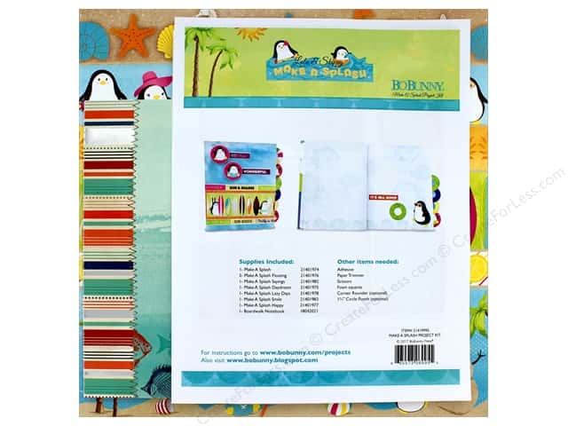 Bo Bunny Collection Make A Splash Project Kit