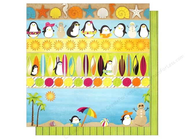 "Bo Bunny Collection Make A Splash Paper 12""x 12"" (25 pieces)"