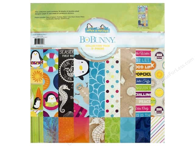 "Bo Bunny Collection Make A Splash Collection Pack 12""x 12"""