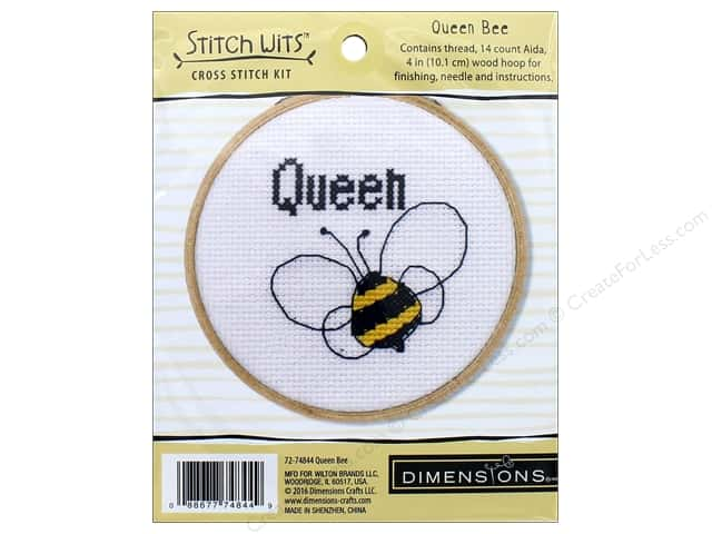 Dimensions Cross Stitch Kit Queen Bee
