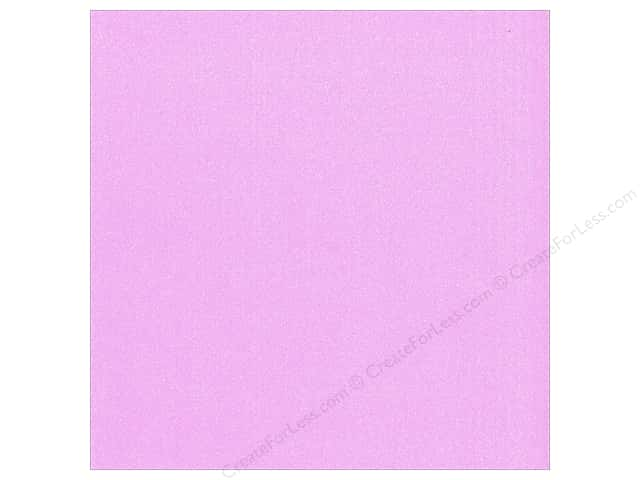 Best Creation 12 x 12 in. Cardstock Glitter Hot Purple (15 pieces)