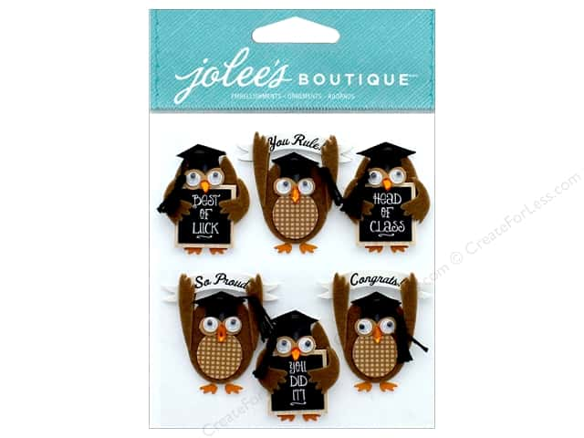 EK Jolee's Boutique Repeats Graduation Owl