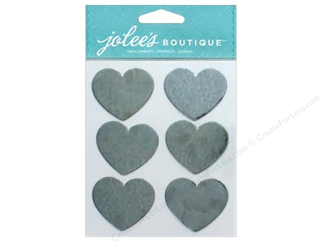 EK Jolee's Boutique Metal Hearts