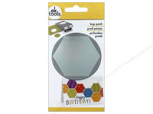 EK Punch Large Round Hexagon