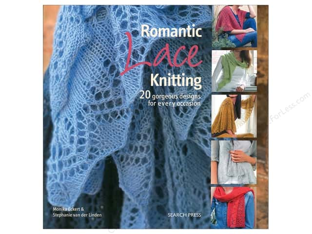 Romantic Lace Knitting Book by Monika Eckert and Stephanie van der Linden