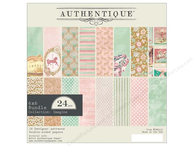 "Authentique Collection Imagine Bundle Pad 6""x 6"""