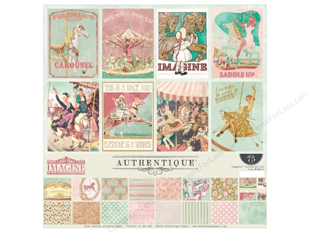 "Authentique Collection Imagine Collection Kit 12""x 12"""