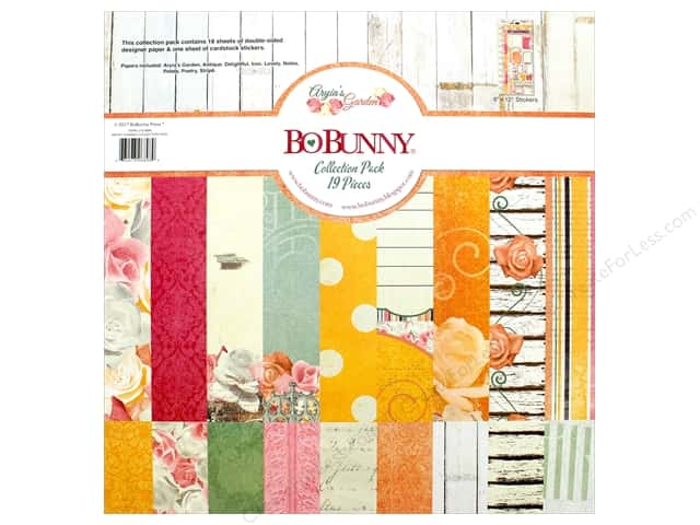 "Bo Bunny Collection Aryia's Garden Collection Pack 12""x 12"""