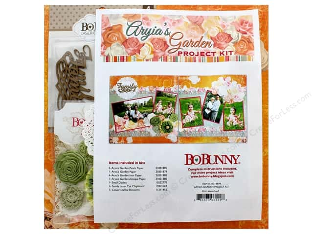 Bo Bunny Collection Aryia's Garden Project Kit