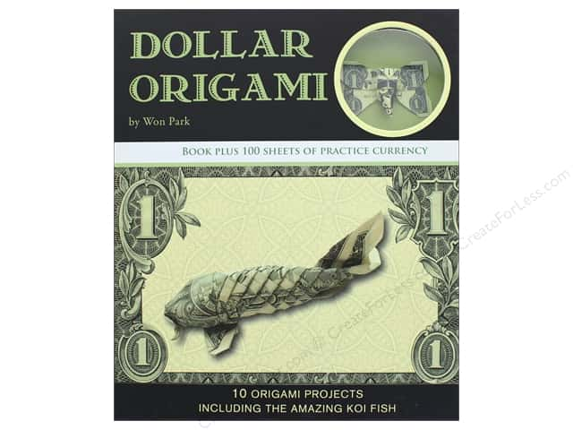 Dollar Origami Book by Won Park