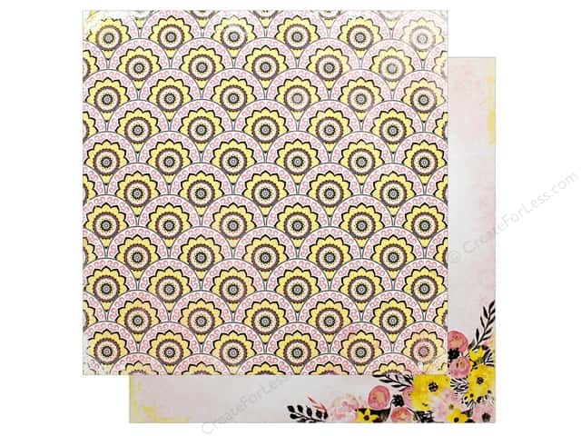 "Bo Bunny Collection Petal Lane Paper 12""x 12"" Blooms (25 pieces)"