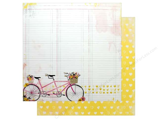 "Bo Bunny Collection Petal Lane Paper 12""x 12"" (25 pieces)"