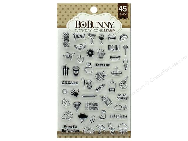 Bo Bunny Stamp Essentials Everyday Icons