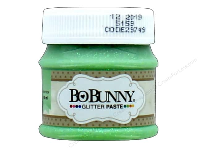 Bo Bunny Glitter Paste 1.69 oz. Honeydew