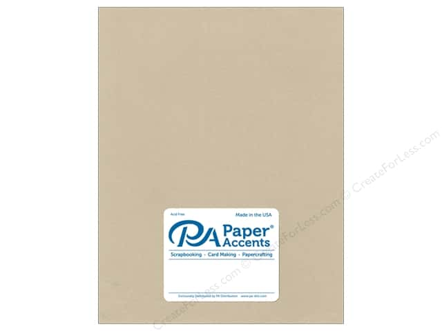 Paper Accents Pearlized Paper 8 1/2 x 11 in. #8838 Taupe 5 pc.