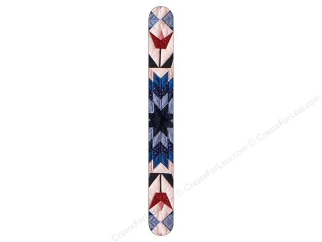 FotoFiles Nail File 7 in. Blue Star Quilt