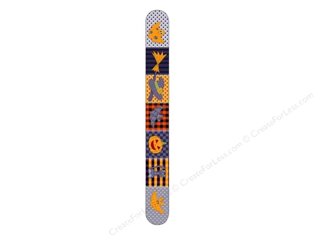 FotoFiles Nail File 7 in. Halloween Quilt