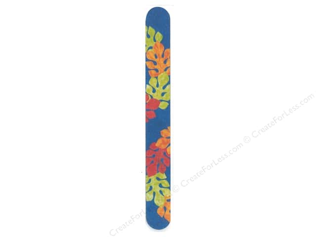 FotoFiles Nail File 7 in. Tropical Leaves