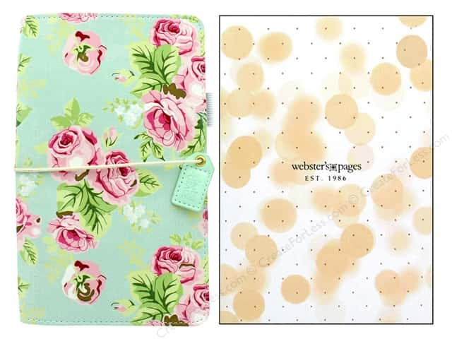 Webster's Pages Color Crush Planner Traveler Floral Mint Boxed