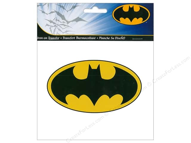 Simplicity Iron On Transfer DC Comics Batman Logo