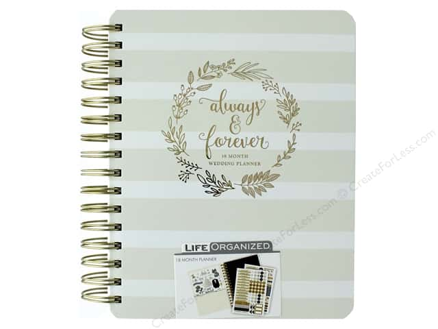 Paper House Life Organized Collection Planner Wedding Always & Forever