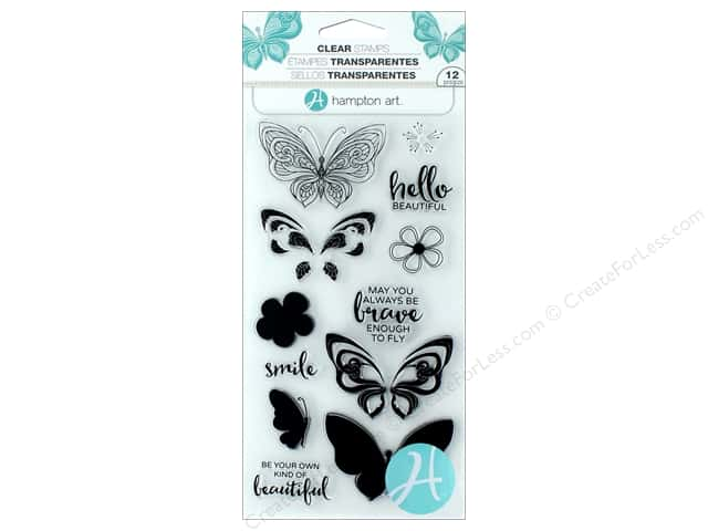 Hampton Art Stamp Clear Layer Butterfly
