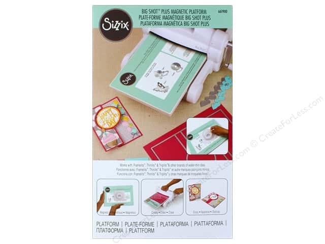Sizzix Big Shot Plus Magnetic Platform