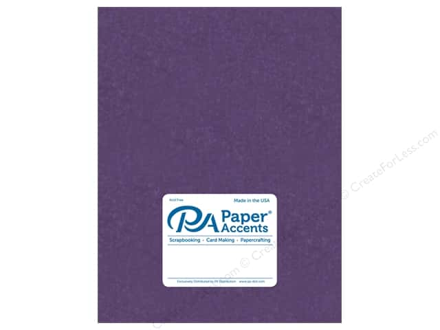 Paper Accents Cardstock 8 1/2 x 11 in. #840 Silk Plush Purple 5 pc.