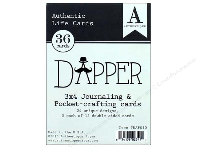 Authentique Collection Dapper Life Card