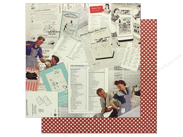"Authentique Collection Dapper Paper 12""x 12"" Seven (25 pieces)"