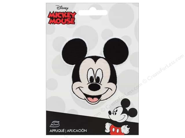 Simplicity Applique Disney Iron On Small Mickey Head