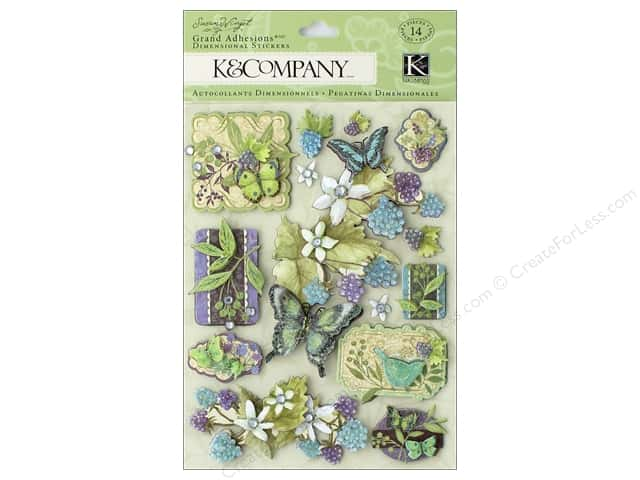 K&Company Stickers Susan Winget Botanical Icon (3 sets)