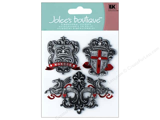 Jolee's Boutique Stickers Around The World Crests And Shields