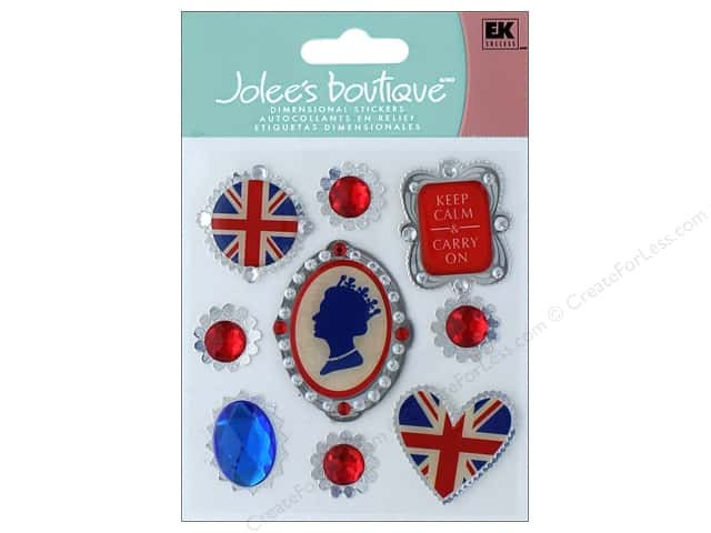 Jolee's Boutique Stickers Around The World Royal Cameos