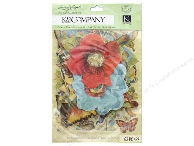K&Company Die Cut Susan Winget Nature