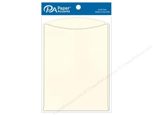 Paper Accents Pocket 5 x 7 in. Cream 8 pc.