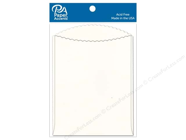Paper Accents Pocket 4 1/4 x 5 1/2 in. Eggshell 10 pc.