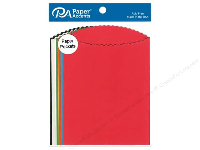 Paper Accents Pocket 5 x 7 in. Assorted 10 pc.