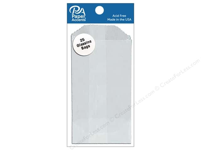Paper Accents Bags 2 x 3 1/2 in. Glassine 25 pc.