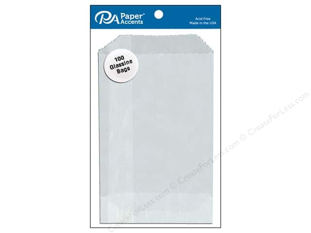 Paper Accents Bag 2 3/4 x 4 1/4 in. Glassine 100 pc.
