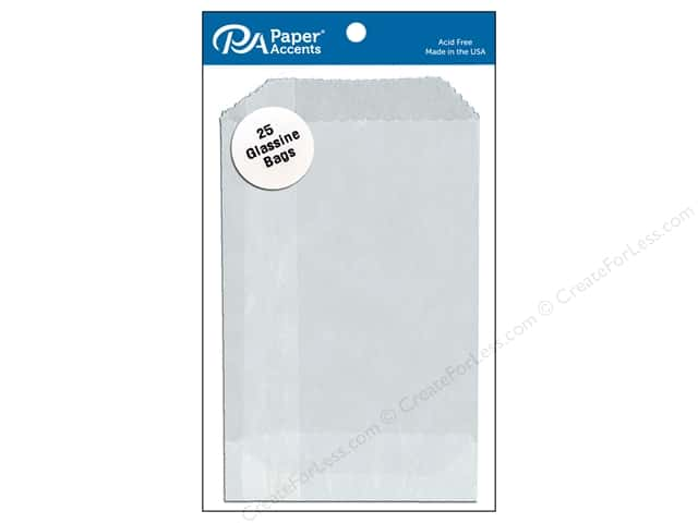 Paper Accents Bags 2 3/4 x 4 1/4 in. Glassine 25 pc.