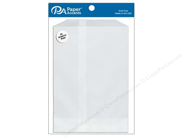 Paper Accents Bags 5 1/2 x 7 3/4 in. Glassine 25 pc.