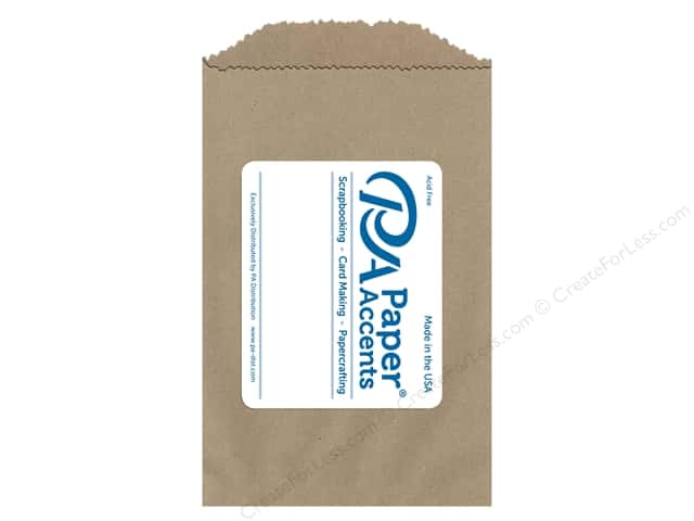 Paper Accents Bags 5 x 7 1/2 in. Kraft 100 pc.