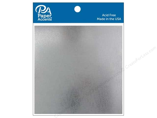 Paper Accents Tin Sheet 4 x 4 in. 28 gauge 2 pc.