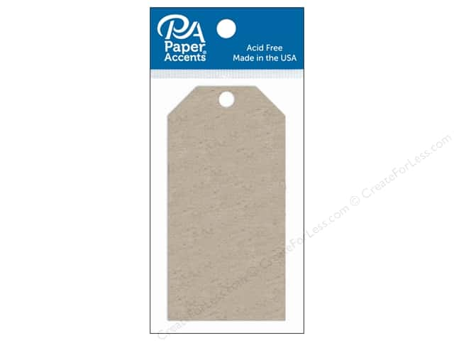 Paper Accents Craft Tags 2 1/8 x 4 1/4 in. 5 pc. Chipboard