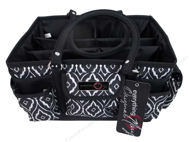 Everything Mary Deluxe Store & Tote Black & White