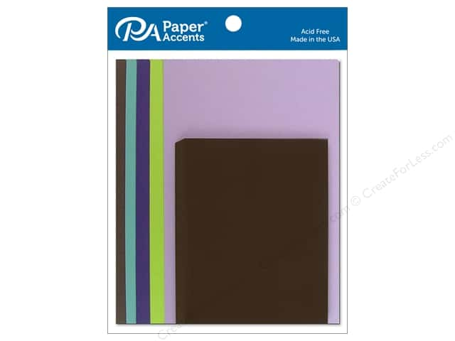 Paper Accents 4 1/4 x 5 1/2 in. Blank Card & Envelopes 10 pc. Boho Whimsey